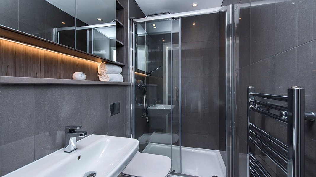 Bathroom In Salford Flat Manchester